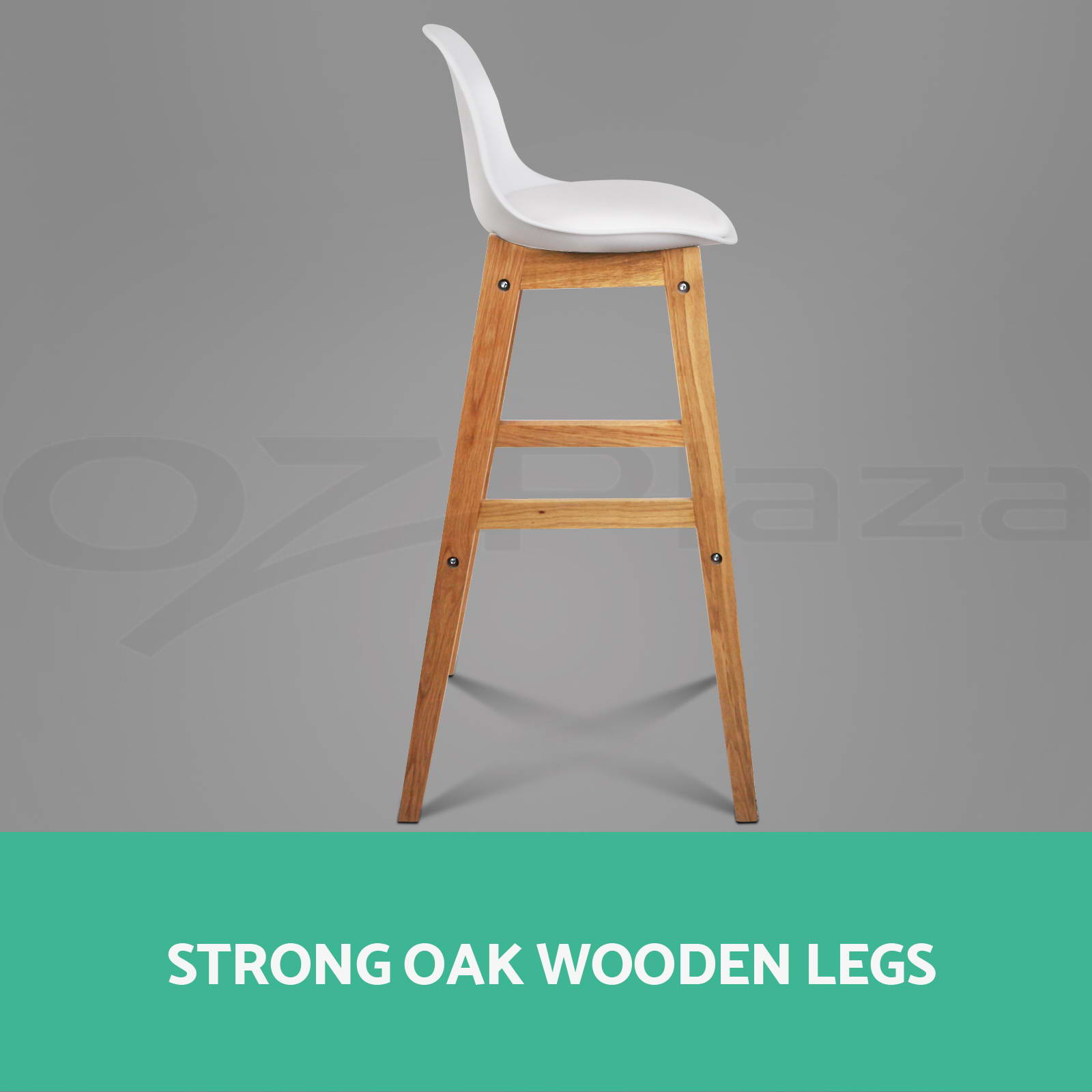 4x Oak Wood Bar Stools Wooden Barstool Dining Chairs  : BA F 3601 WHX4 P05 from www.ebay.com.au size 1600 x 1600 jpeg 112kB