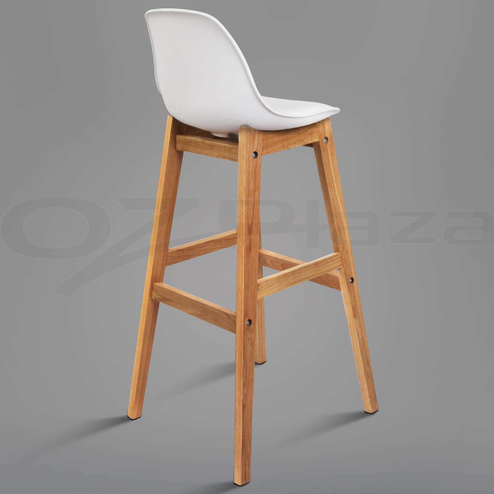 4x Oak Wood Bar Stools Wooden Barstool Dining Chairs  : BA F 3601 WHX4 P09 from www.ebay.com.au size 1600 x 1600 jpeg 118kB