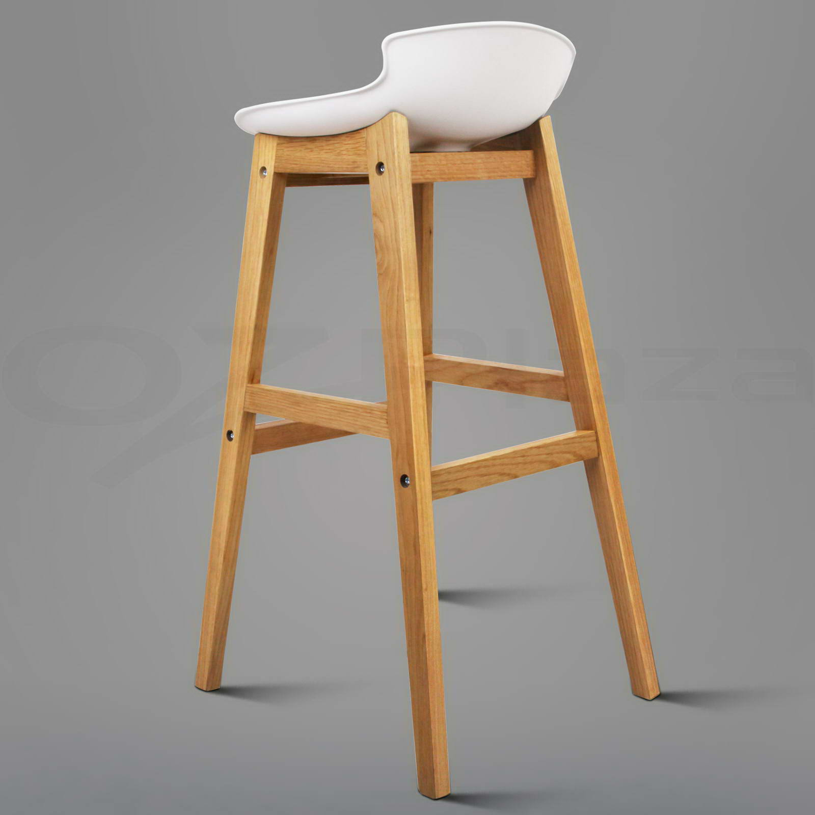 2x Oak Wood Bar Stools Wooden Barstool Dining Chairs  : BA F 3621 WHX2 P09 from www.ebay.com.au size 1600 x 1600 jpeg 125kB