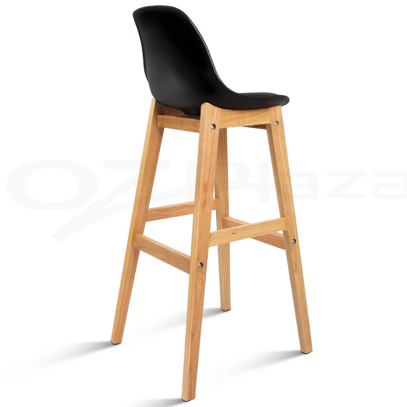 Oak wood bar stools wooden dining chairs kitchen