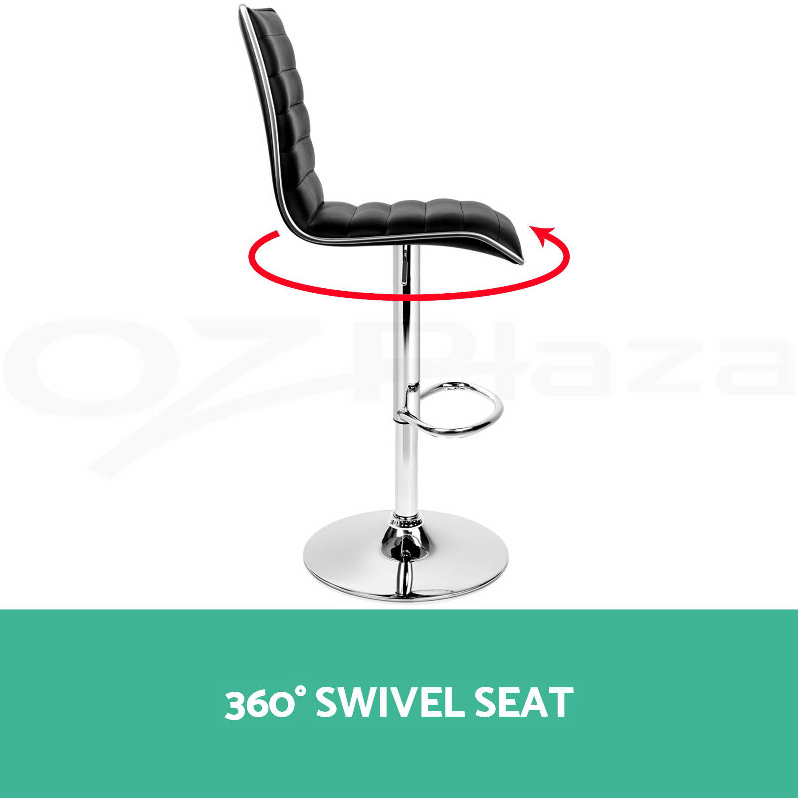 2x 4x Bar Stools Fabric PU Leather Dining Chair Barstool  : BA TW 1126 BKX2 VARN P06 from www.ebay.com.au size 1600 x 1600 jpeg 72kB