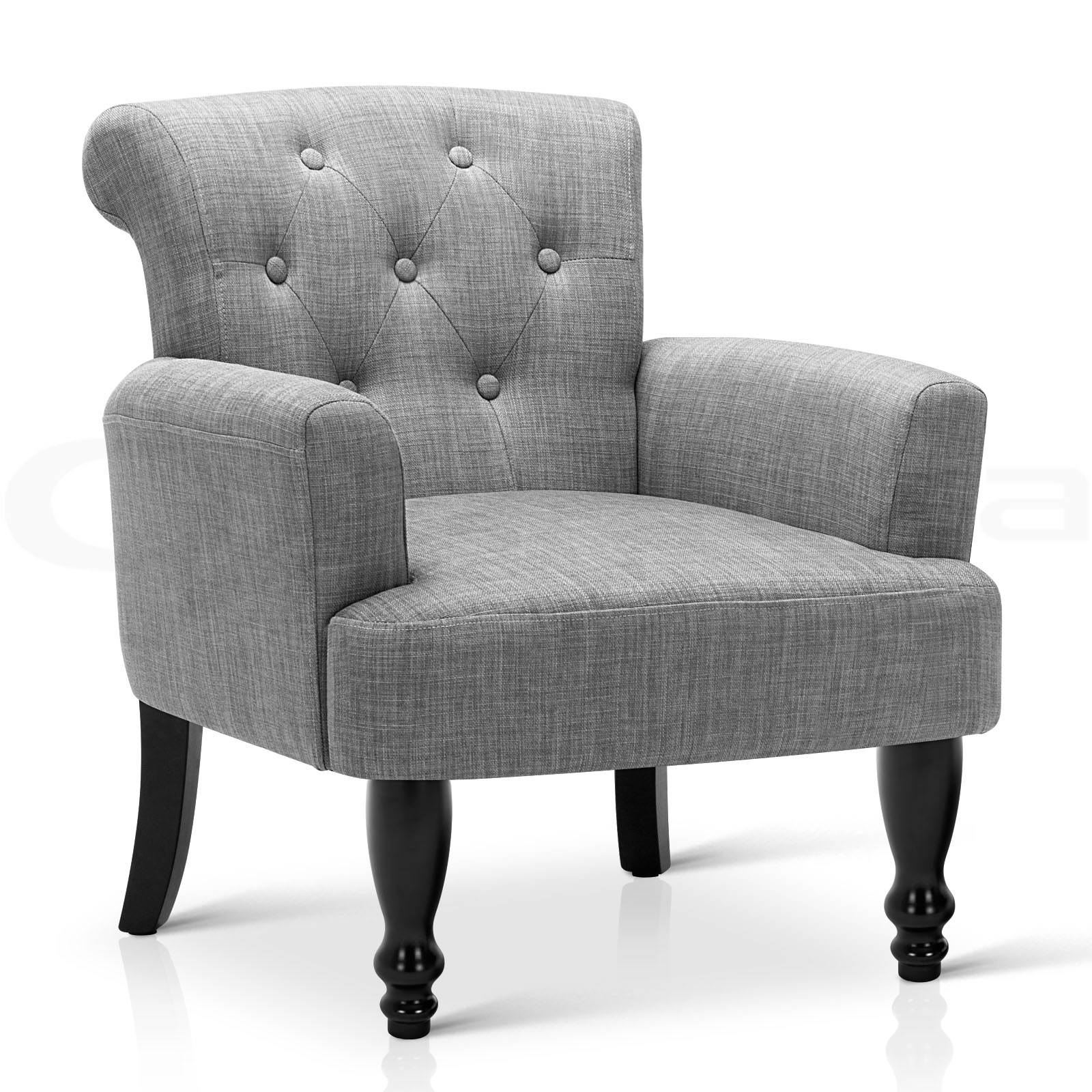 Lorraine Wingback Armchair Tub Lounge Wing Sofa French