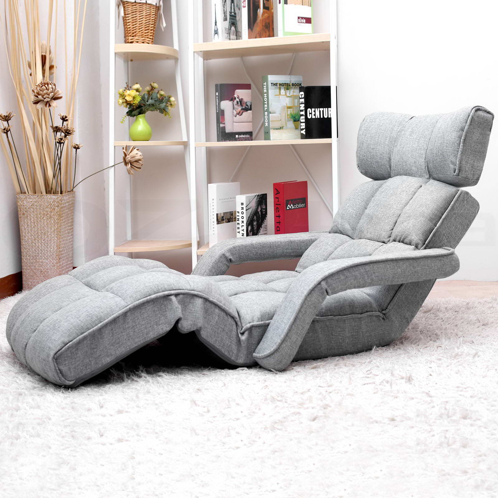 Lounge Sofa Bed Floor Armchair Folding Recliner Chaise