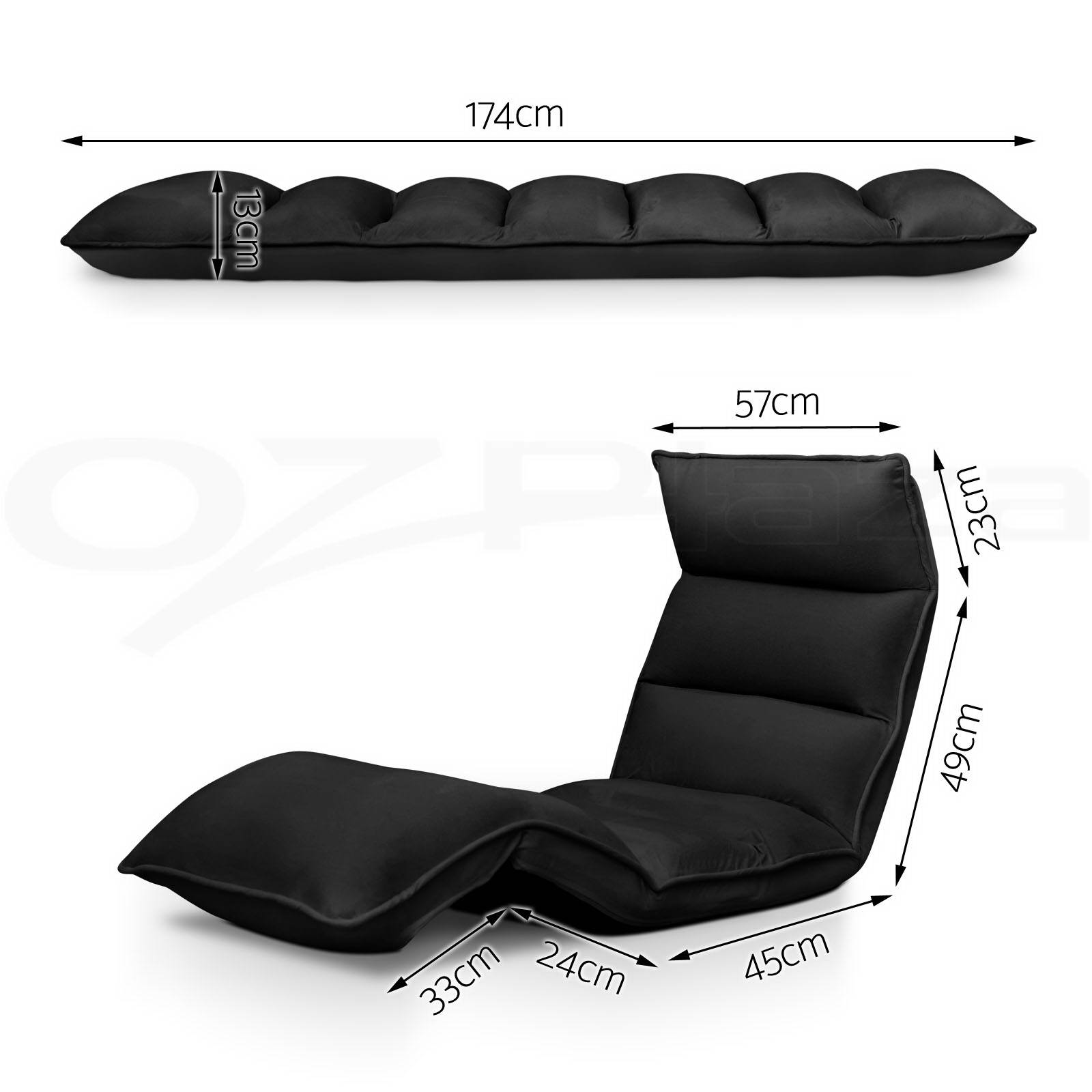 Lounge Sofa Bed Floor Recliner Folding Chaise Chair