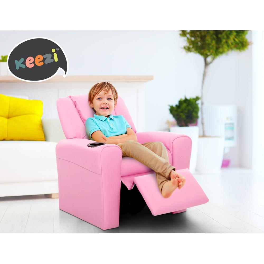 Kid Recliner Sofa Children Leather Fabric Arms Chair Black  : KID RECLINER PK VAR P10 from www.ebay.com.au size 1600 x 1600 jpeg 172kB