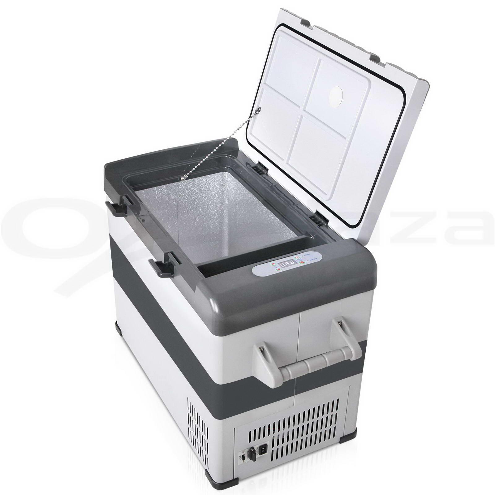 Glacio 55L Portable Fridge Freezer Cooler 12V/24V/240V Camping Caravan Boat