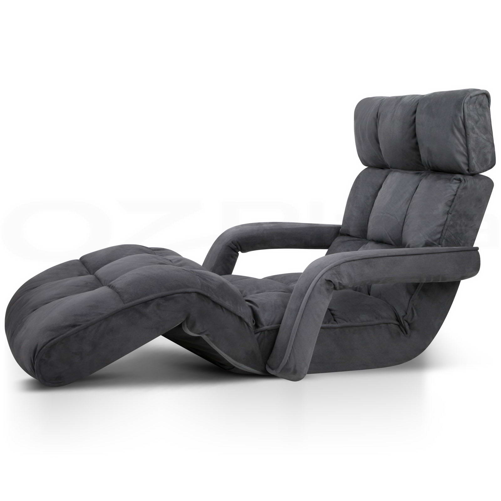 Lounge Sofa Bed Floor Armchair Folding Recliner Chaise ...