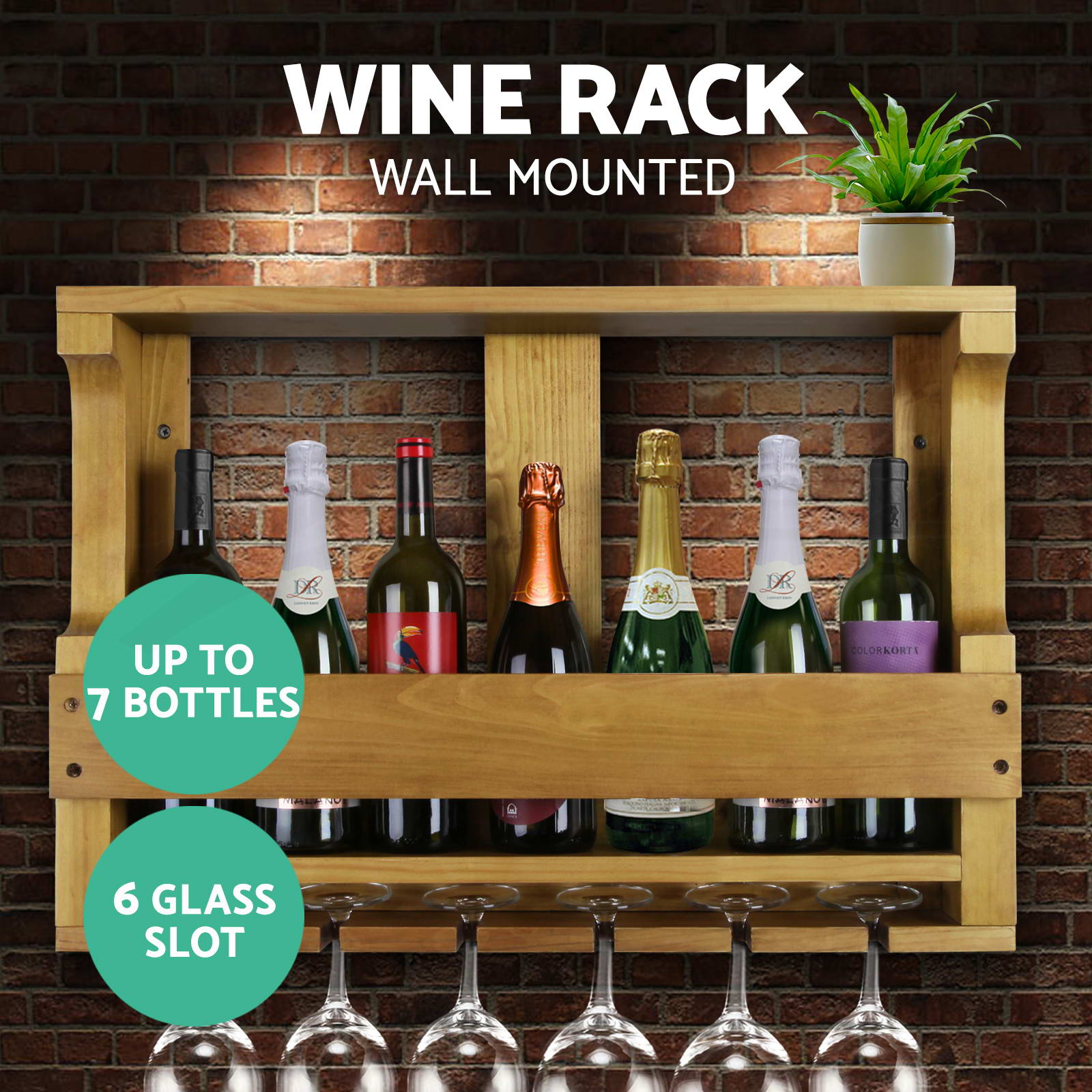 Timber-Wine-Rack-Wooden-Storage-Organiser-Stand-7-12-20-24-30-42-64-72-110Bottle